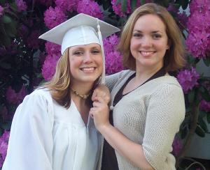 I wore her...well, everything. I graduated in '03 and that's an '01 tassel.
