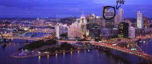 PittsburghSkylineAtDuskPanoramic